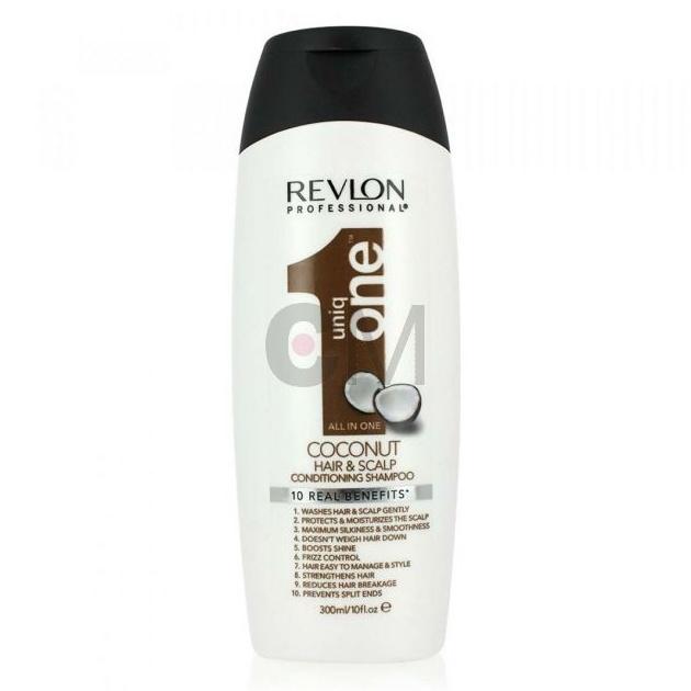 shampoing baume 10 en 1 et son parfum noix de coco de chez Revlon